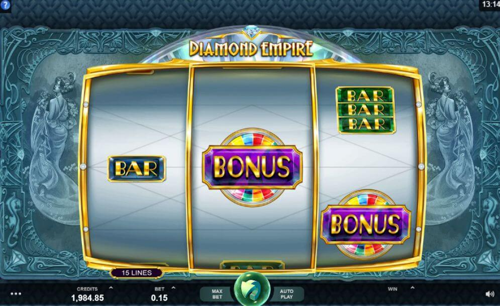 Diamond Empire Slot Bonus