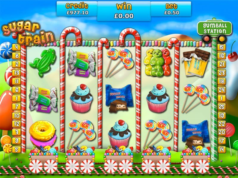 Sugar Train Slot Bonus