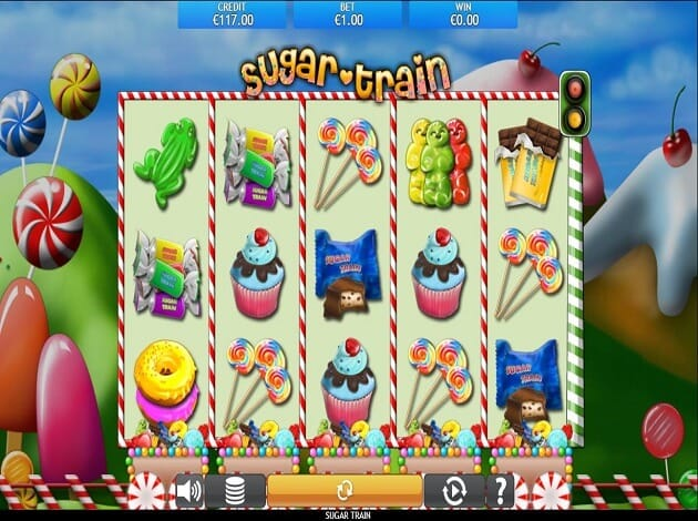 Sugar Train Slot Gameplay